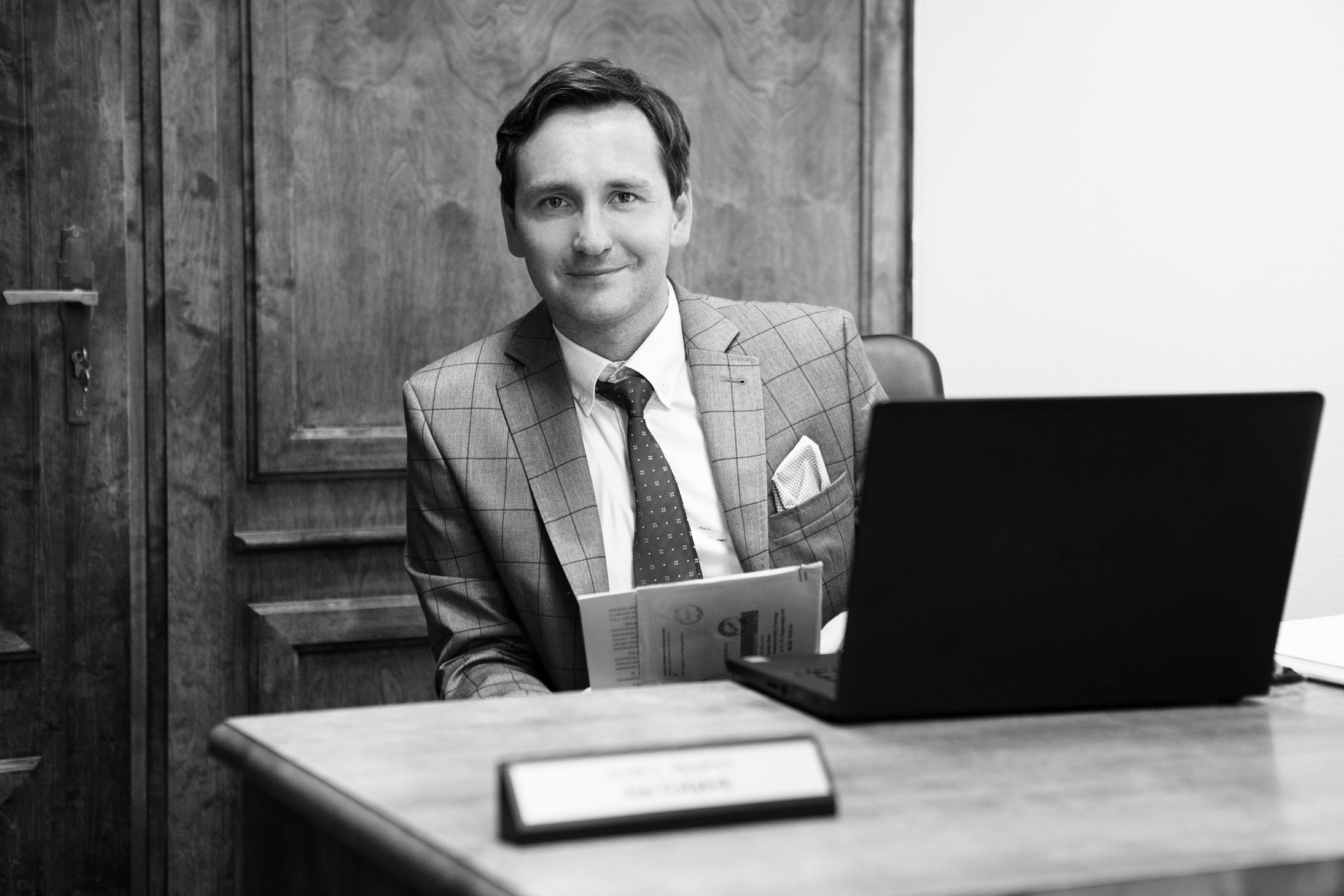 Jan Gołąbek radca prawny w kancelarii
